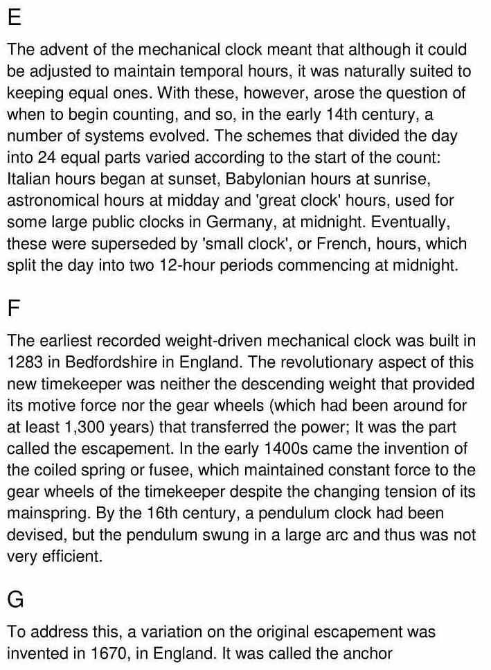 timekeeping - 3
