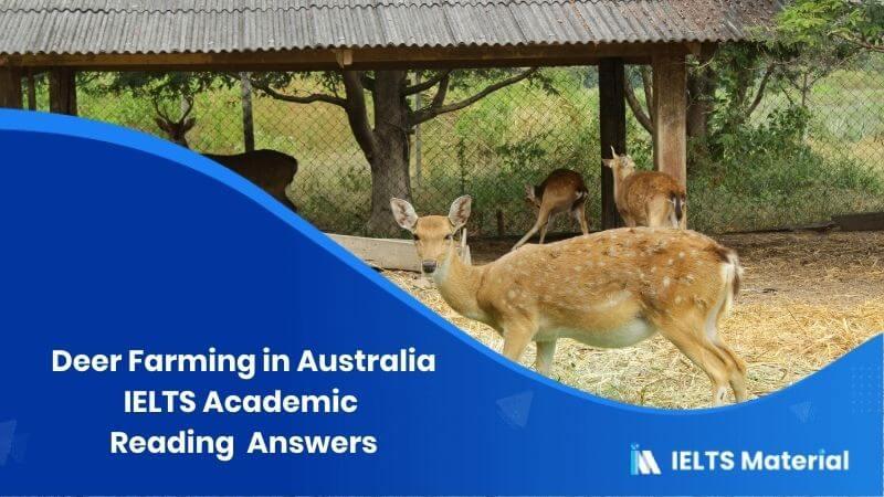 'Deer Farming in Australia'
