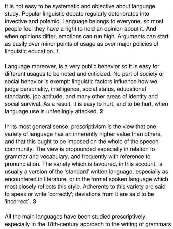language - 1