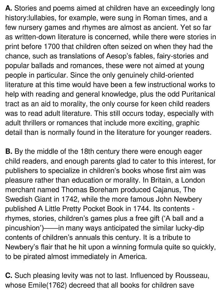 Children's Literature - 0001