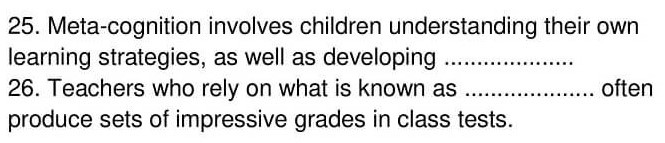 'Gifted children and Learning' Answers_0006