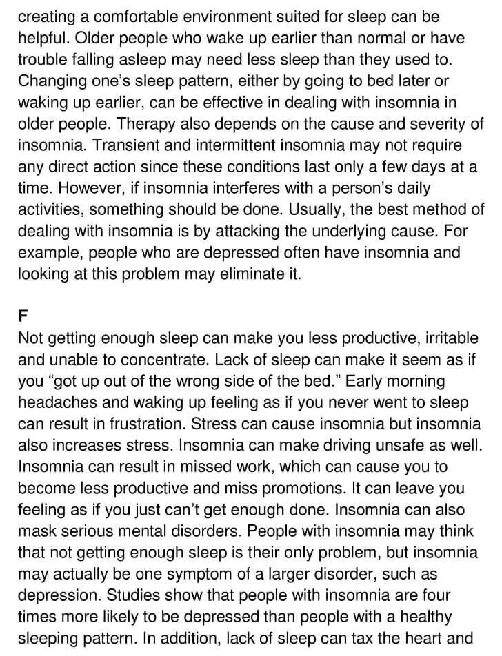'Insomnia - The Enemy of Sleep' Answers_0003