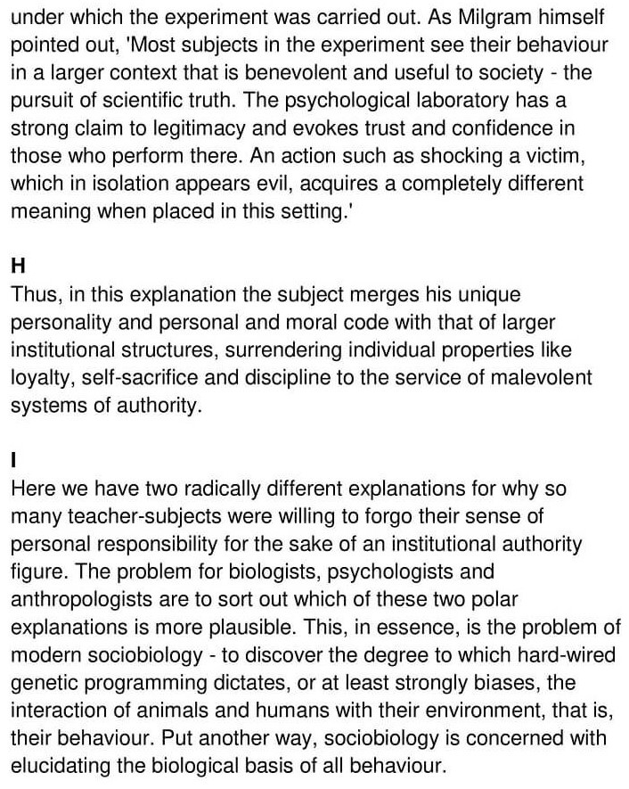 'Nature or Nurture' Answers_0004