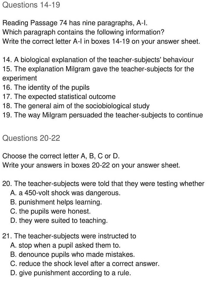 'Nature or Nurture' Answers_0005