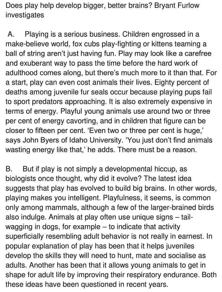 'Play Is a Serious Business' Answers_0001