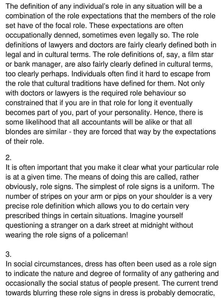 'The Concept of Role Theory' Answers_0002