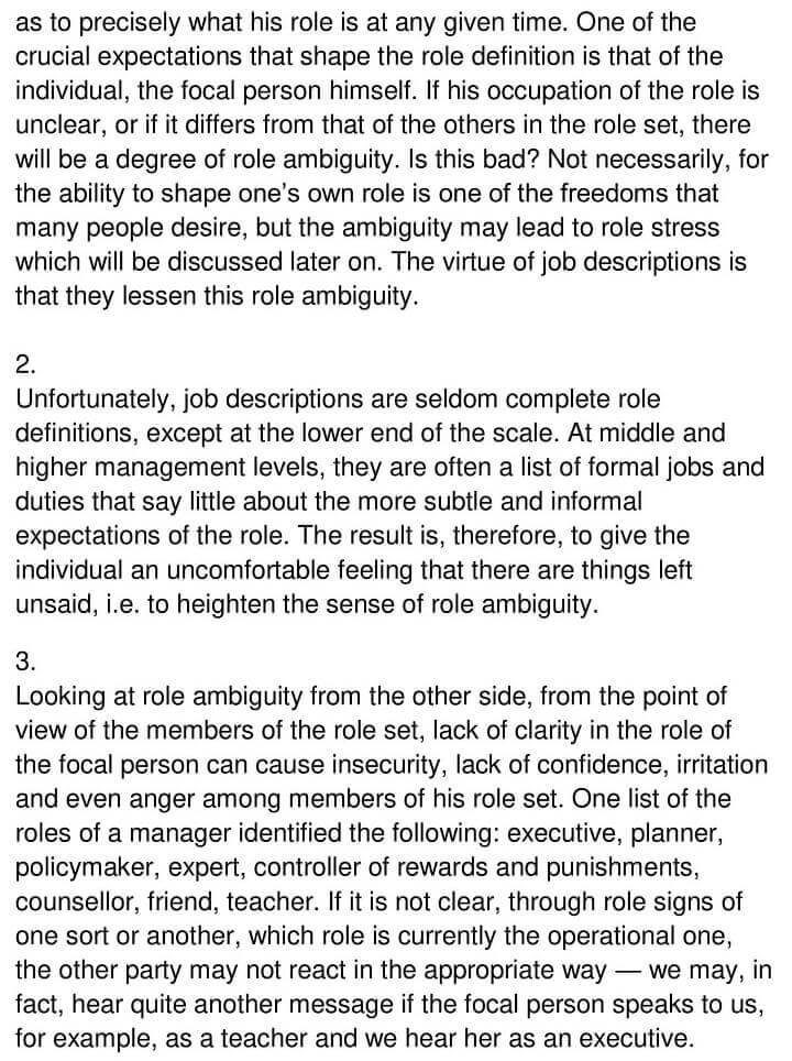 'The Concept of Role Theory' Answers_0004