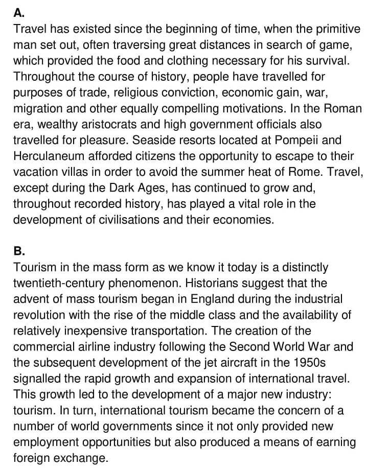 'The Context Meaning and Scope of Tourism' Answers_0001