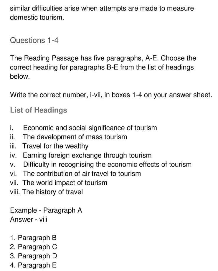 'The Context Meaning and Scope of Tourism' Answers_0004
