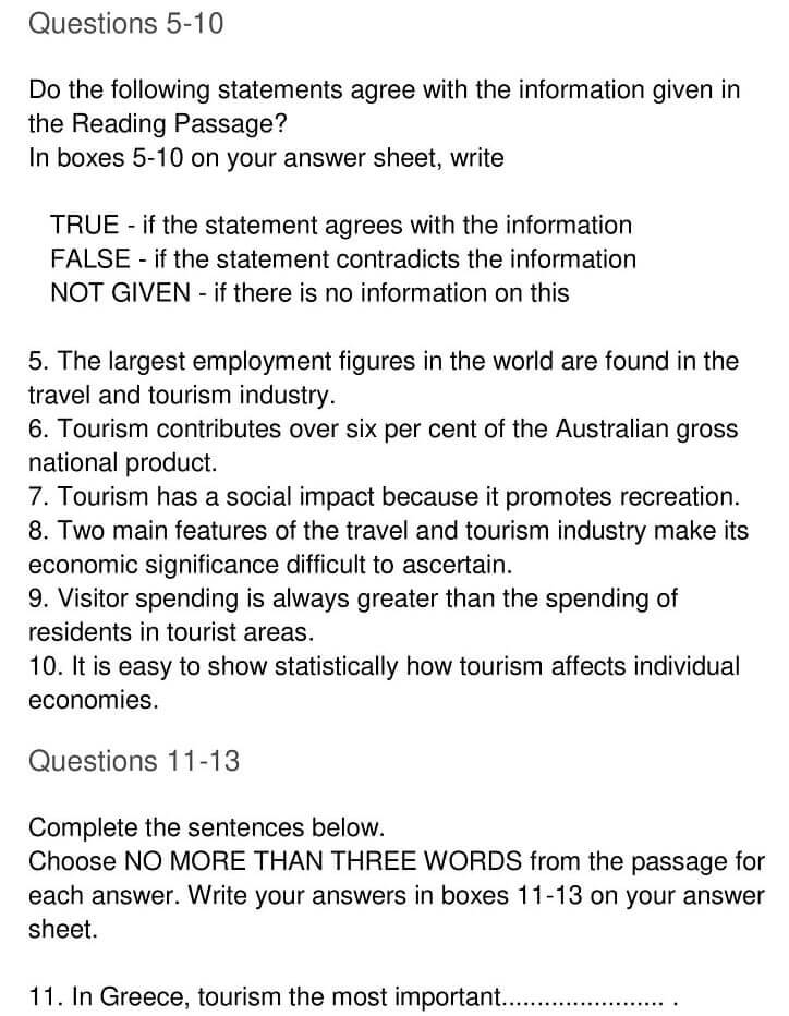 'The Context Meaning and Scope of Tourism' Answers_0005