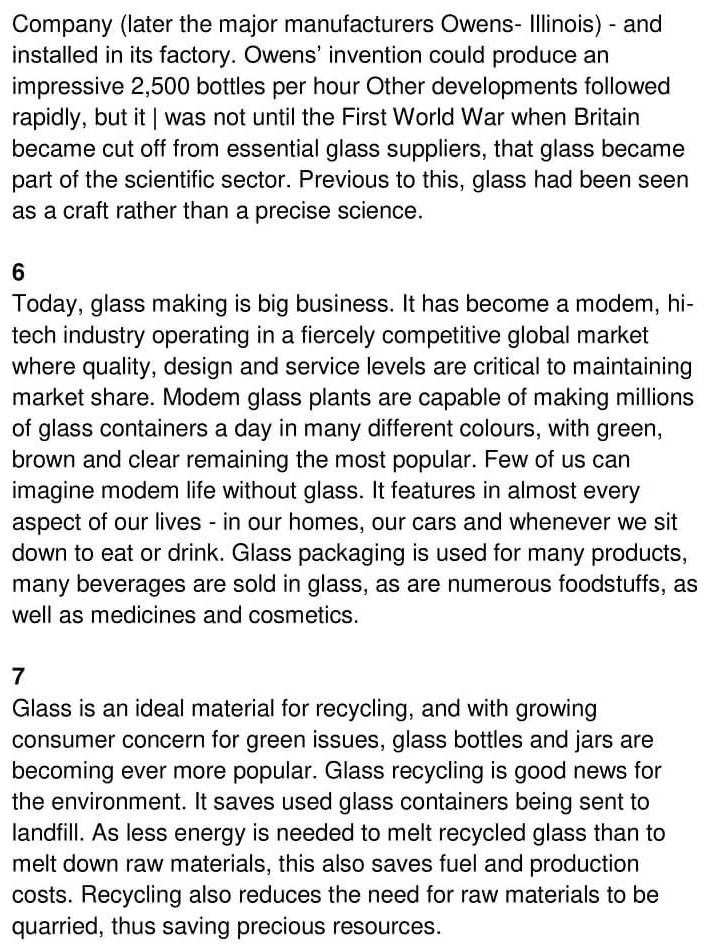 'The History of Glass' Answers_0003