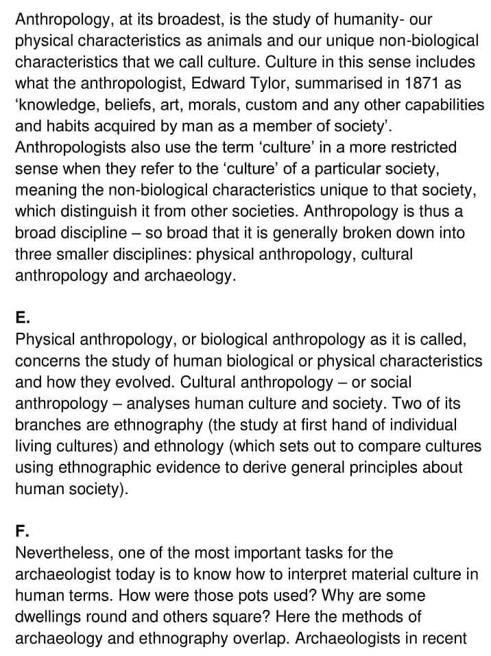 'The Nature and Aims of Archaeology' Answers_0002