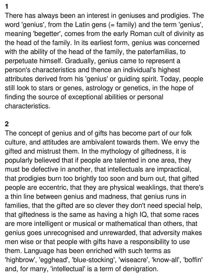 'The Nature of Genius' Answers_0001