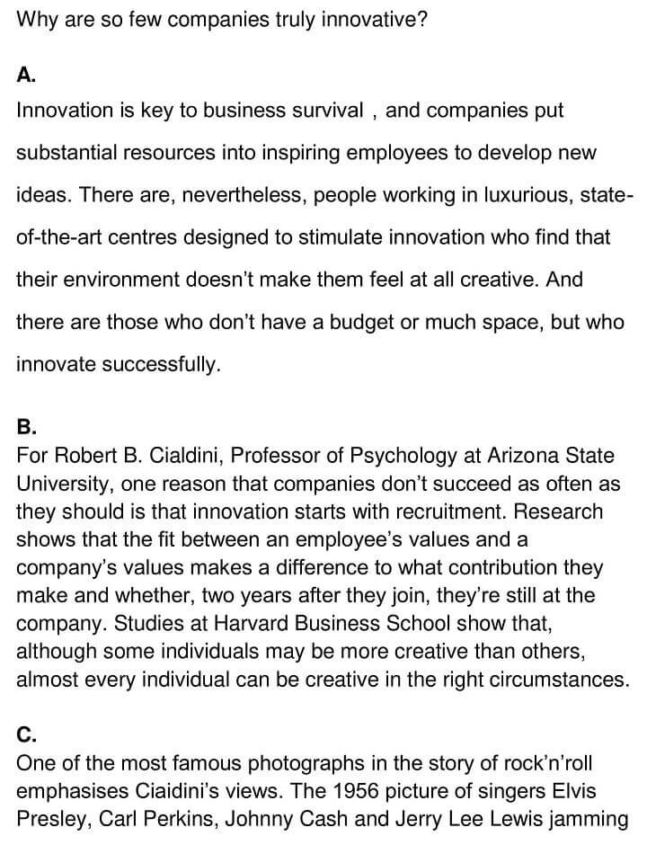 'The Psychology of Innovation' Answers_0001