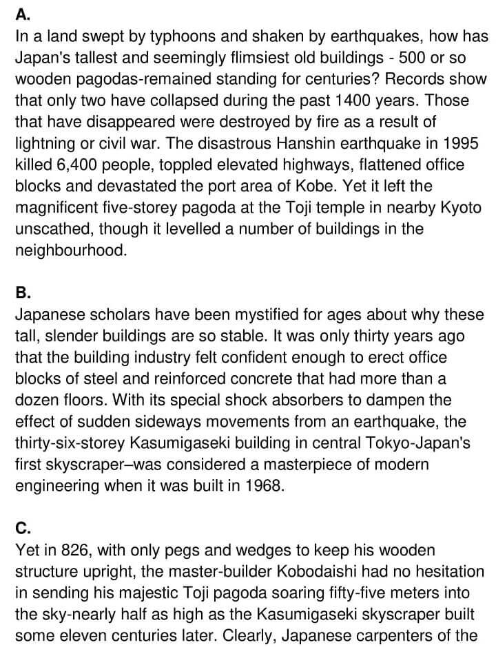 'Why Pagodas don't Fall Down' Answers_0001