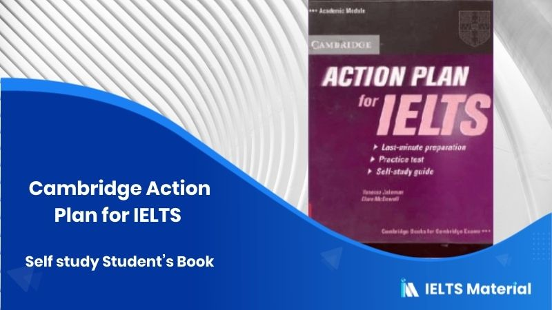 Cambridge Action Plan for IELTS Self study Student's Book - General Training & Academic Module