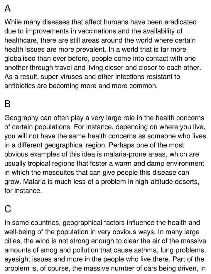 health geography - 1