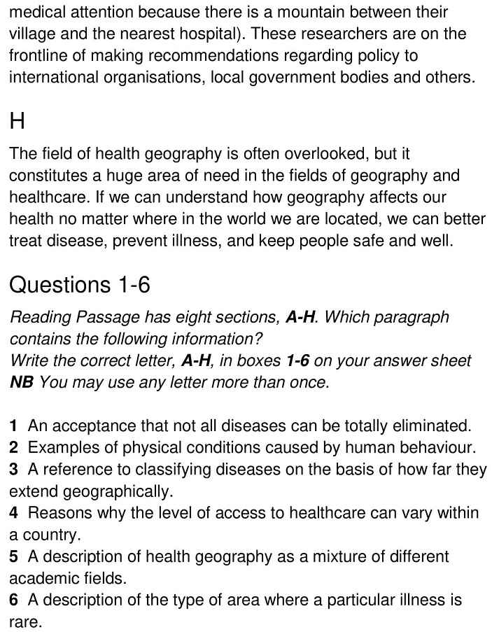 health geography - 4