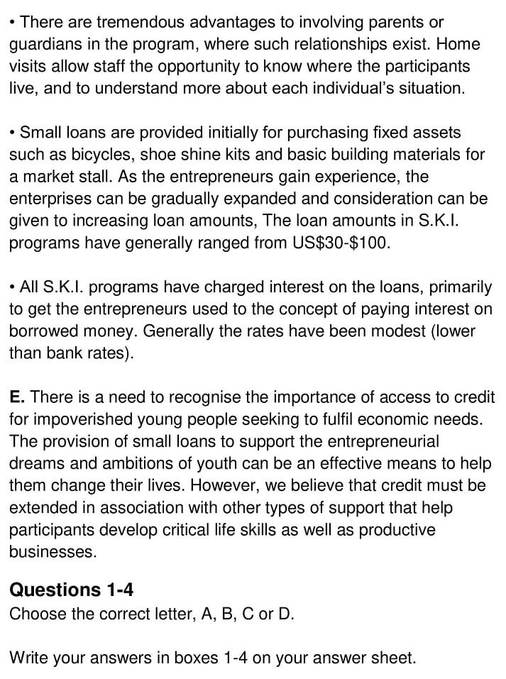 Micro-Enterprise Credit for Street Youth - 0004