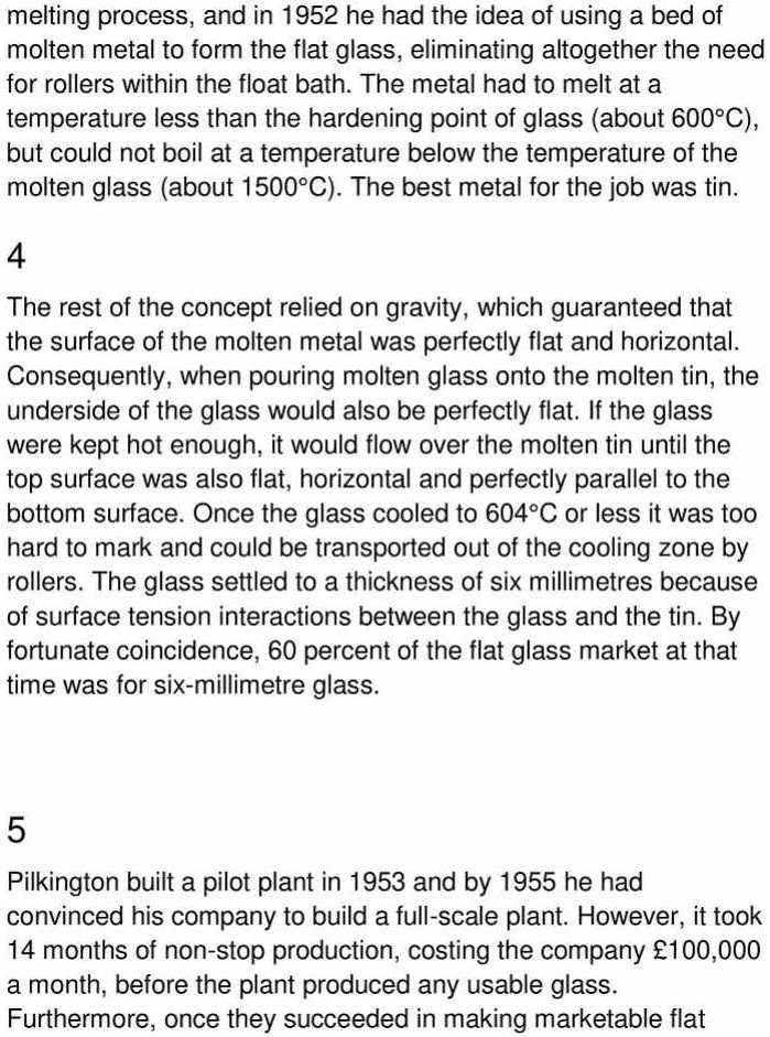 sheet glass - 2