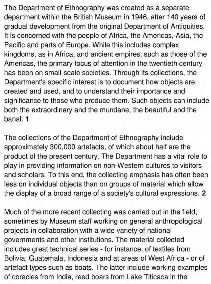 ethnography - 1