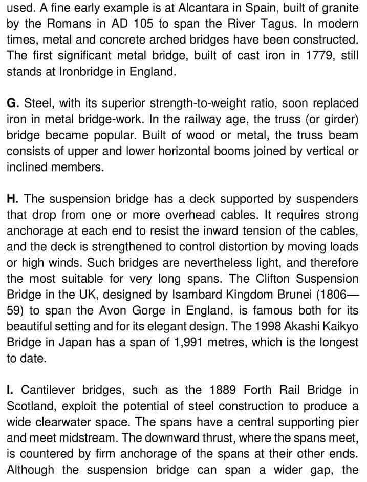The construction of roads and bridges - 0003
