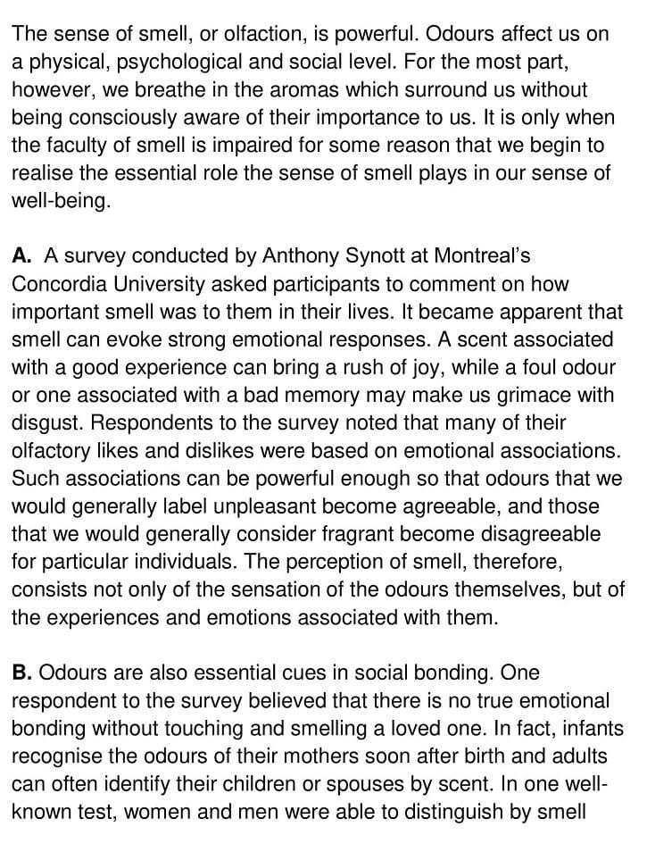 The meaning and power of smell - 0001