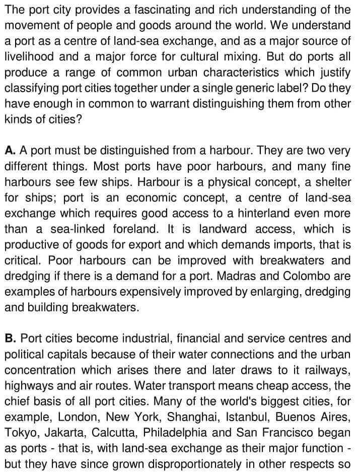 What Is a Port City - 0001