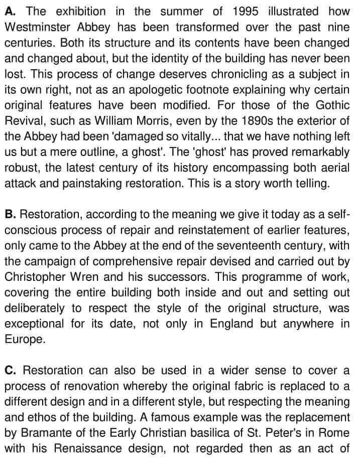 900 Years The Restorations Of Westminster Abbey - 0001