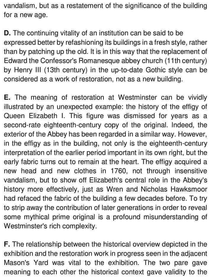 900 Years The Restorations Of Westminster Abbey - 0002