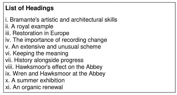 900 Years The Restorations Of Westminster Abbey - 0006