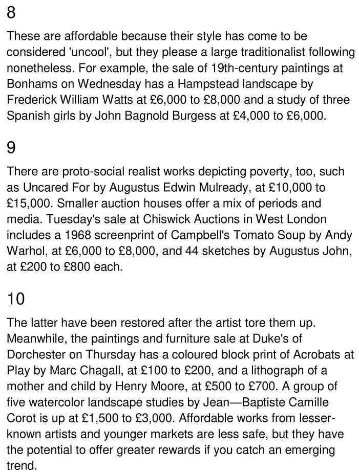 affordable art - 3