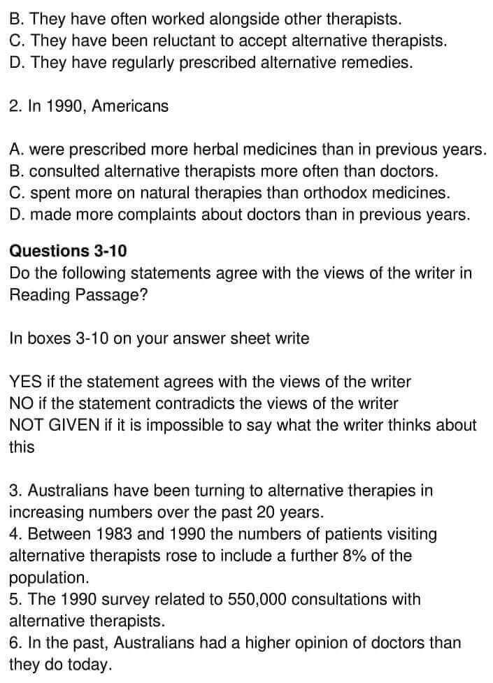 Alternative Medicine in Australia - 0004