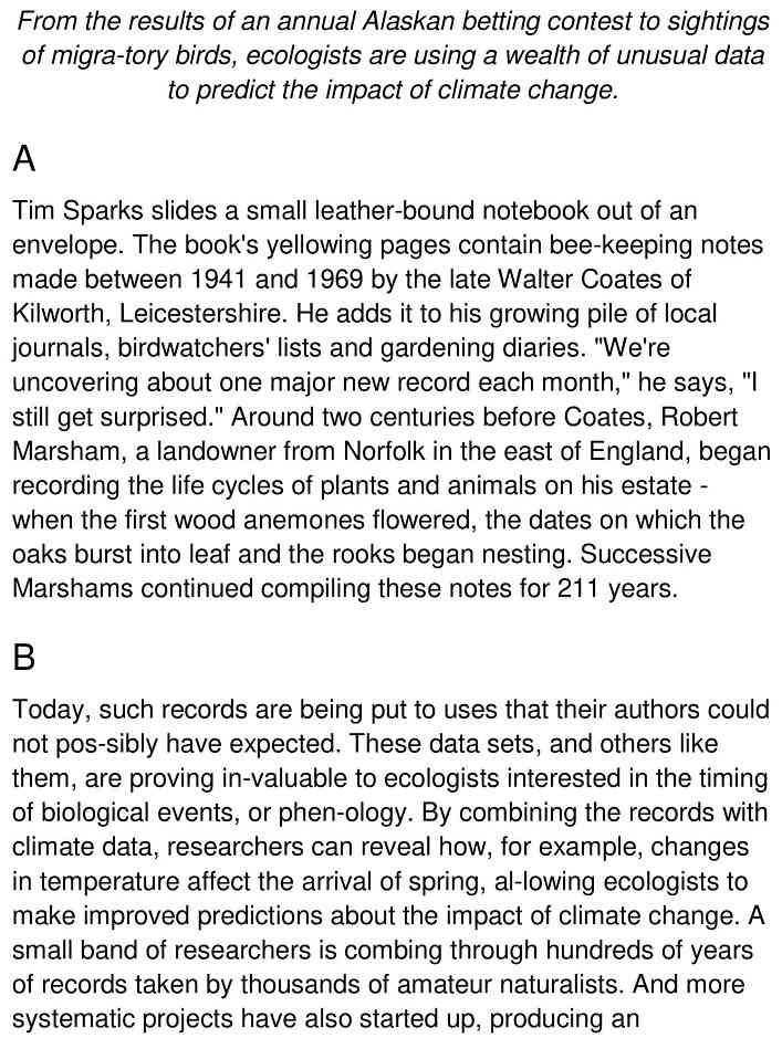 amateur naturalists 1