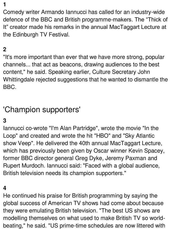britain tv industry 1