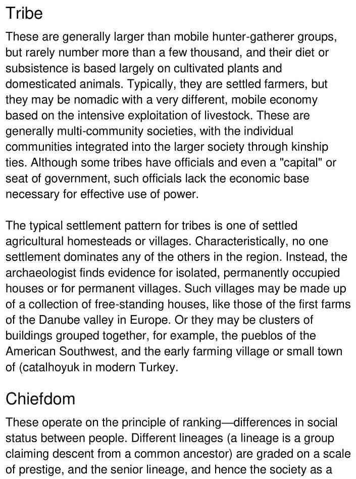 classifying societies 2