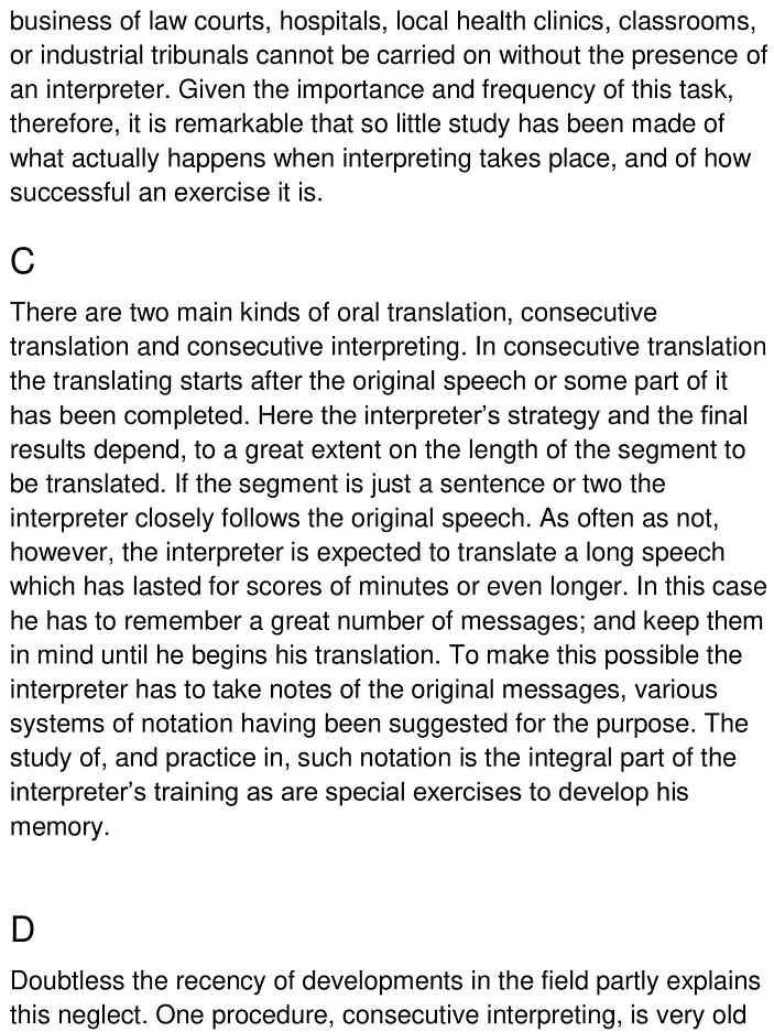 consecutive simultaneous translation 2
