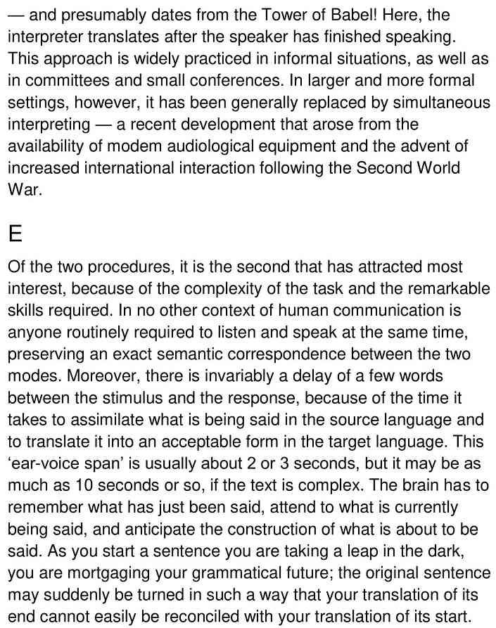 consecutive simultaneous translation 3