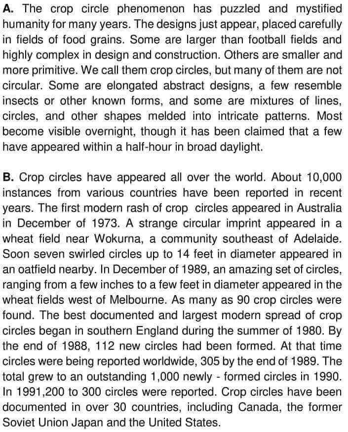 Crop Circles - 0001