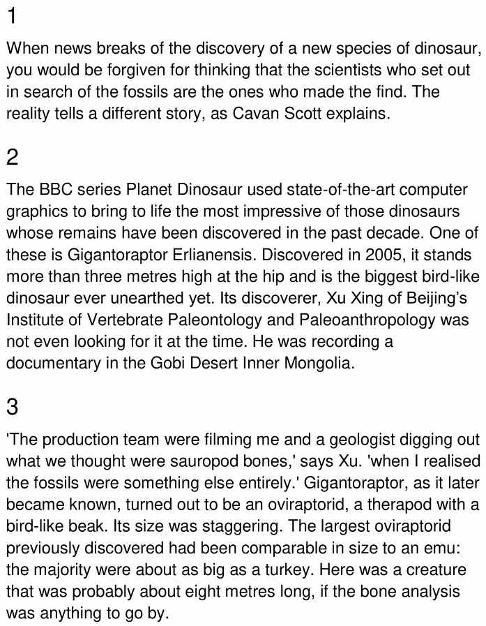 dino discoveries 1