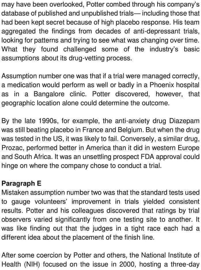 Examining The Placebo Effect - 0003