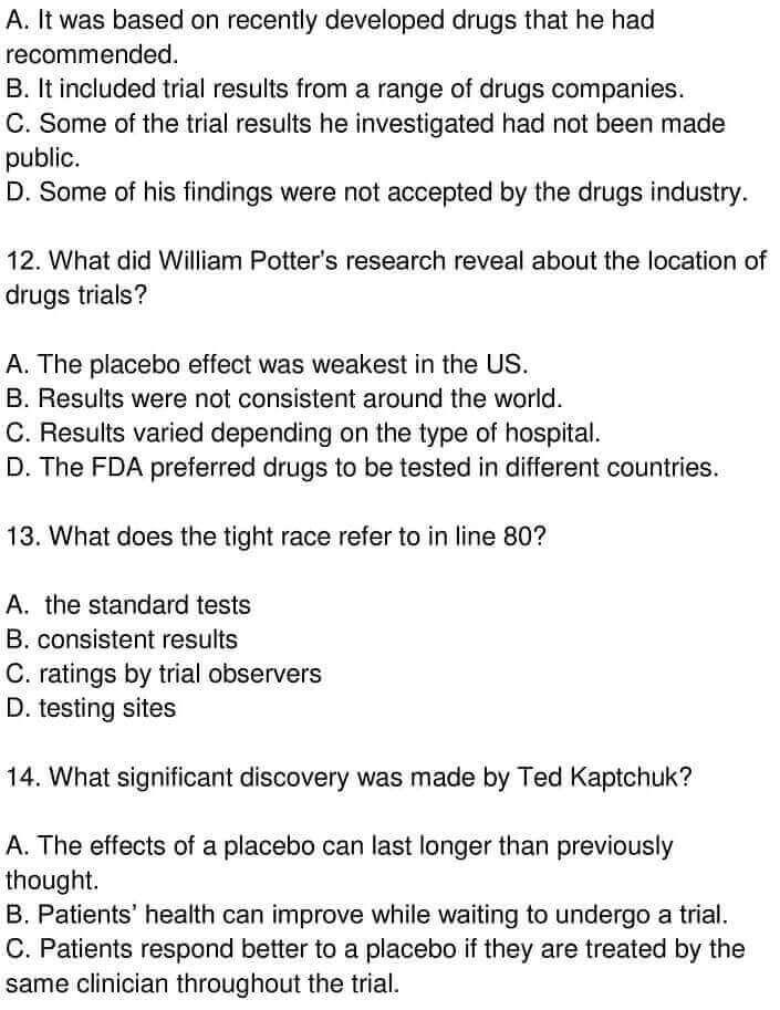 Examining The Placebo Effect - 0007