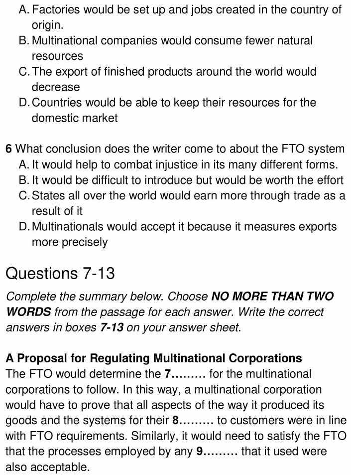 fair trade 7