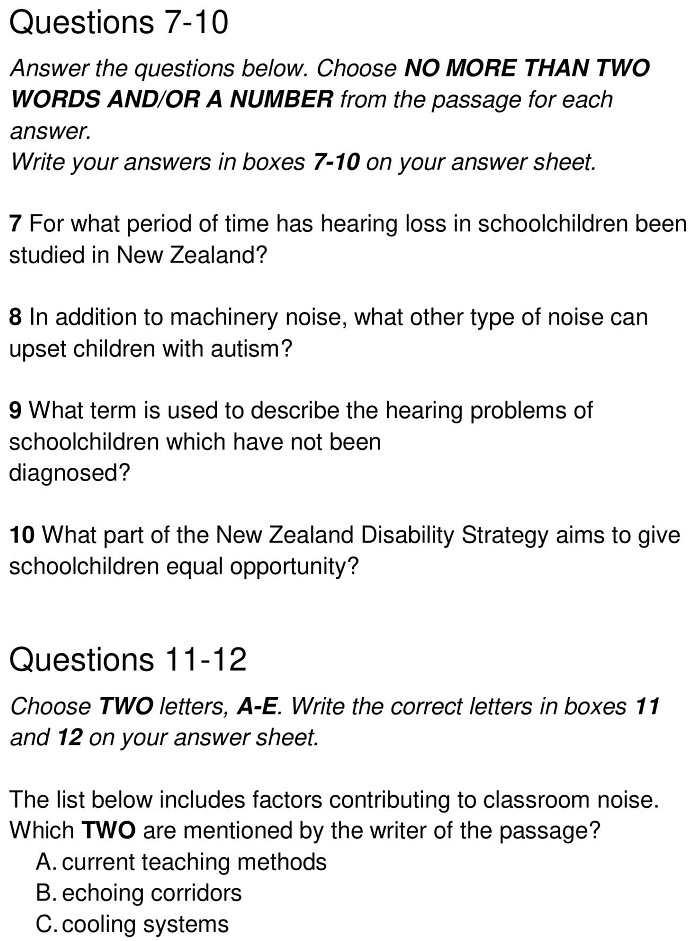 hearing impairment 6