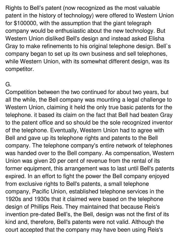 'Early Telecommunication Devices' Answers_0003