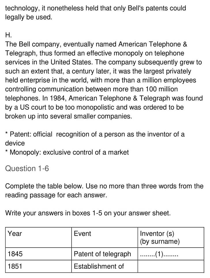 'Early Telecommunication Devices' Answers_0004