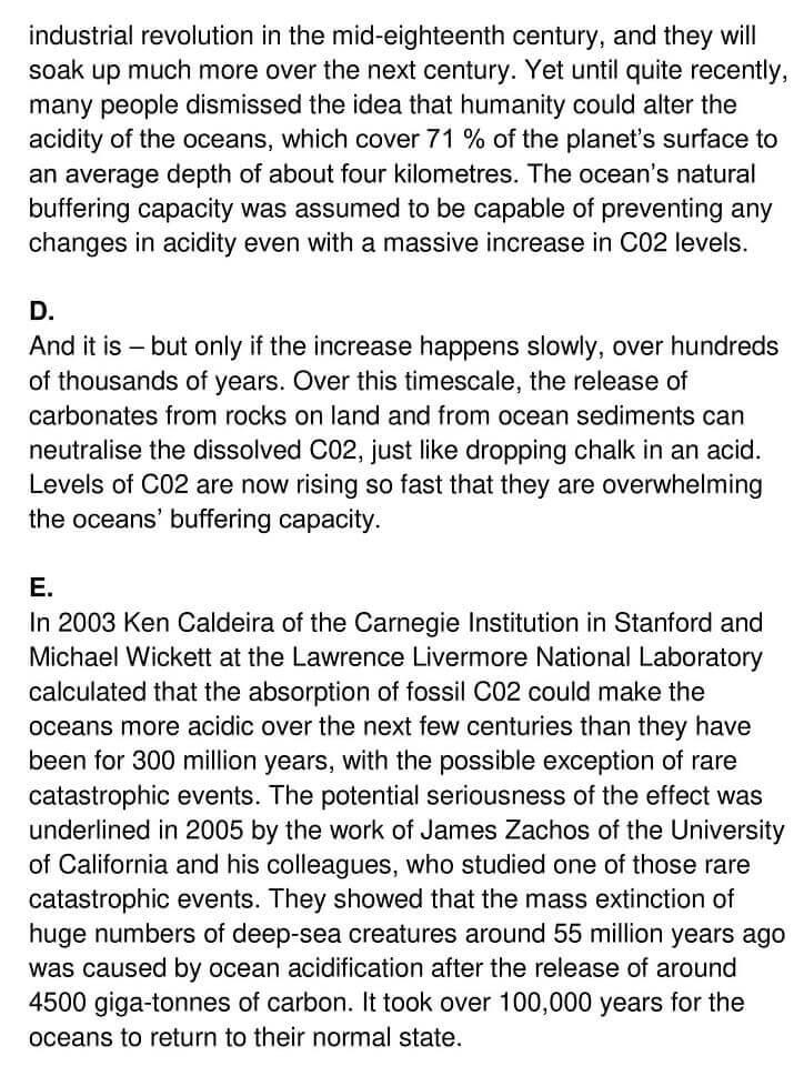 'Ocean Acidification' Answers_0002