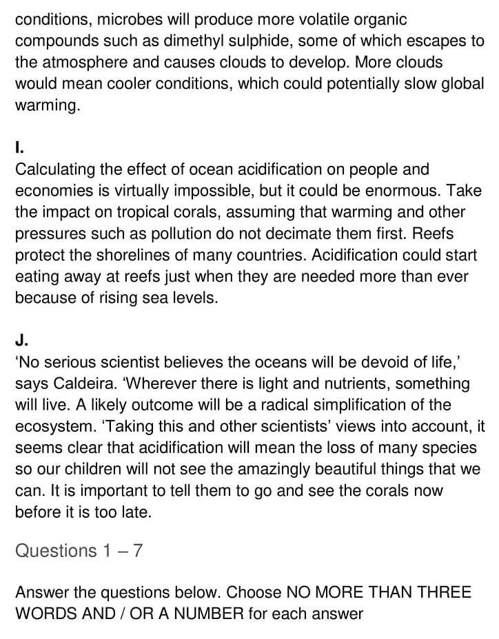 'Ocean Acidification' Answers_0004