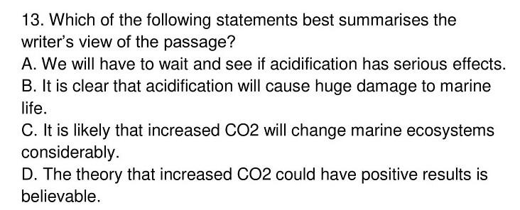 'Ocean Acidification' Answers_0006