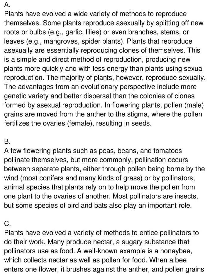 'Pollination' Answers_0001